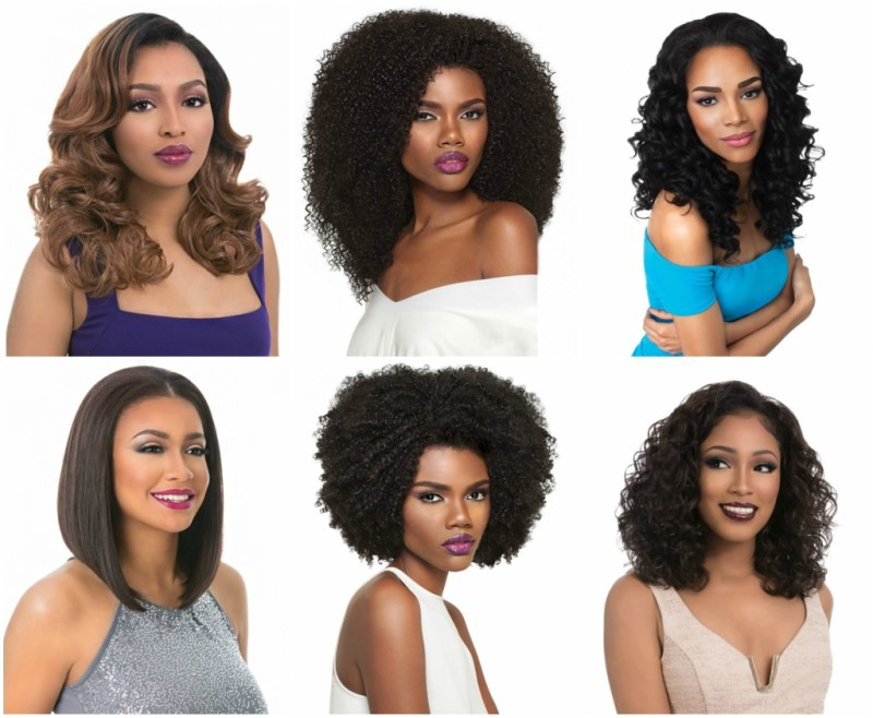 om has a huge selection of wigs, weaves and other hair necessities.