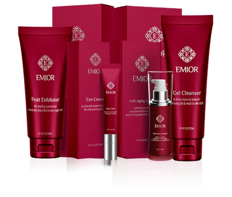 Emior Breakthrough Anti-Aging Skin Care