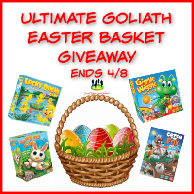 Ultimate Goliath Easter Basket Giveaway