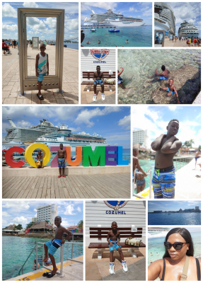 Fun at the Royal Caribbean Cruise Port - Cozumel, MX